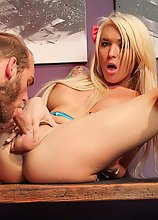 Sexy horny Aubrey Kate returns for another smoking hardcore scene! This horny tgirl loves getting fucked, and she loves getting a blowjob from her man